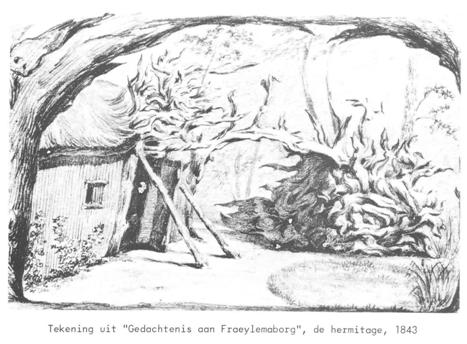Kluizenaarshut hermitagekopie